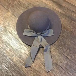 Light Brown Wool Hat